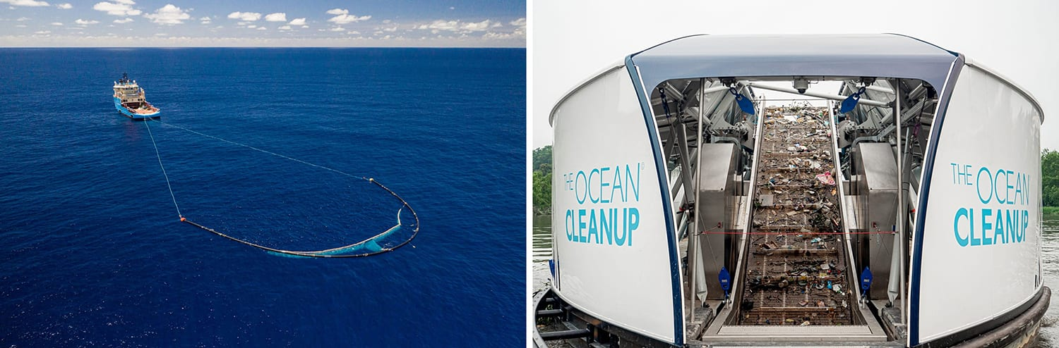 ocean cleanup on take care