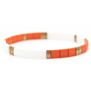 bracelet perles plates children's dreams